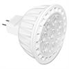 Satco 7-watt MR16 LED Dimmable Bulb - 7 W - 12 V DC - 520 lm - MR16 Size - Warm White Light Color - GU5.3 Base - 25000 Hour - 4940.3°F (2726.8°C) Color Temperature - 80 CRI - Energy Saver, Dim