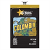 Alterra Roasters Colombia Coffee - Compatible with Flavia - Caffeinated - Colombia - Medium - 100 / Carton