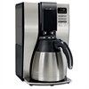 Mr. Coffee Classic Coffee 10-cup Thermal Coffeemaker - Programmable - 10 Cup(s) - Black, Silver