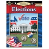 Teacher Created Resources Gr 4-8 America Elections Book Politics Printed Book - Book