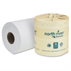 "North River Bathroom Tissue - 2 Ply - 4.30"" x 3.75"" - 550 Sheets/Roll - White - Eco-friendly - For Bathroom - 80 / Carton"