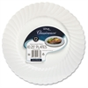 "Table Ware - 10.25"" Diameter Plate - Plastic - Disposable - White - 144 Piece(s) / Carton"