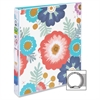 "Avery Fashion Durable View with Round Rings - 1"" Binder Capacity - 175 Sheet Capacity - 1 x Round Ring Fastener(s) - 2 Internal Pocket(s) - Floral - 1 Each"