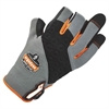 720 Heavy-Duty Framing Gloves - 7 Size Number - Small Size - Neoprene Knuckle, Poly - Black - Heavy Duty, Padded Palm, Reinforced Palm Pad, Reinforced Fingertip, Reinforced Saddle, Hook & Loop