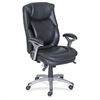 "Lorell Executive Chair - Bonded Leather - 26.8"" Width x 30.5"" Depth x 44.3"" Height"