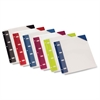 Oxford University Press Nonstick Poly Binder Pockets - Assorted - Poly - 6 / Pack