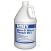 MISTY Amrep RTU Glass/Mirror Cleaner - Ready-To-Use Liquid - 1 gal (128 fl oz) - Ammonia Scent - 1 / Each - Blue, Clear