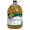 Zep Commercial Commercial Multipurpose Pine Cleaner - Concentrate Liquid - 1 gal (128 fl oz) - Pine Scent - 4 / Carton - Brown