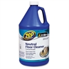 Zep Commercial Neutral Floor Cleaner Concentrate - Concentrate Liquid - 1 gal (128 fl oz) - 4 / Carton - Blue