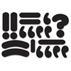 Ashley Magnetic Die-cut Punctuation Marks - Theme/Subject: Learning - Skill Learning: Punctuation, Question