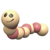 Earthworm Wooden Toy - Skill Learning: Grasping