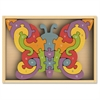 BeginAgain Toys Butterfly A-Z Puzzle - Theme/Subject: Learning, Fun - Skill Learning: Alphabet Recognition, Letter Recognition, Lowercase Letters, Uppercase Letters - 26 Pieces
