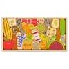 BeginAgain Toys Alphabites A to Z Wooden Puzzle - Theme/Subject: Learning, Fun, Kitchen, Food - Skill Learning: Alphabet, Letter - 26 Pieces