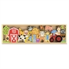 BeginAgain Toys The Farm A to Z Puzzle - Theme/Subject: Learning - Skill Learning: Animal, Plant, Farm - 26 Pieces