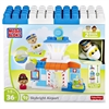 Mega Bloks Skybright Airport Play Set - Skill Learning: Building, Imagination - 36 Pieces