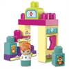 Mega Bloks Pet Vet Blocks Play Set - Theme/Subject: Animal - Skill Learning: Building, Motor Skills, Imagination, Creativity - 11 Pieces