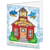 "Scholastic Res. My Homework Folder - Letter - 8 1/2"" x 11"" Sheet Size - 2 Pocket(s) - Plastic - Multi-colored - 1 Book"