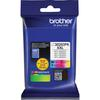 Brother Genuine LC30293PK INKvestment Super High Yield Ink Cartridges - Cyan, Magenta, Yellow - Inkjet - Super High Yield - 1500 Pages (Per Cartridge) - 3 / Pack