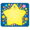 "Carson-Dellosa Grades PreK-5 Rainbow Star Name Tags - 40 Label(s)"" - 3"" Width x 2.50"" Length - Rectangle - Multicolor - 40 / Pack"
