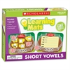 Scholastic Res. Short Vowels Learning Mats - Theme/Subject: Learning - Skill Learning: Short Vowels, Letter Sound, Word, Writing, Vocabulary - 20 Pieces