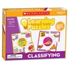 Scholastic Gr K-2 Classifying Learning Puzzles - Theme/Subject: Learning - Skill Learning: Vocabulary, Animal Classification, Object, Word, Picture Matching - 10 Pieces