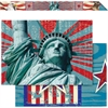 "Americana Xtreme Double-Sided Border - 12 Strip - Americana Xtreme - Double-sided - 3"" Width x 36"" Length - 12 / Set"