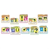"Trend 12"" Punctuation Bulletin Board Set - 10 (Punctuation Marks) Shape - 12"" Length - Multicolor - 10 / Pack"