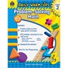 Teacher Created Resources Daily Warm-Ups: Problem Solving Math Grade 2 Education Printed Book for Mathematics - Book - 176 Pages