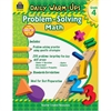 Daily Warm-Ups: Problem Solving Math Grade 4 Education Printed Book for Mathematics - English - Book - 176 Pages