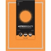 "Astrobrights Foil Enhanced Certificates - Frame Design - 65 lb/176 gsm - 8.5"" x 11"" - Cosmic Orange - Card Stock, Foil - 25 / Pack"