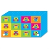 Ashley Colorful Owls Index Card Holder - For Index Card Sheet - Colorful Owls Design - Multi - Polypropylene - 5 / Pack