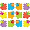 """Trend Sea Buddies School Fish Class Accents - Fish - Durable, Reusable - 6"""" Height - Green, Blue, Yellow, Red, Purple, Orange - 36 / Pack"""