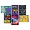 "Trend Self-esteem Posters Combo Pack - 13.4"" Width x 19"" Height"