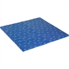 "ECR4KIDS Hands n Feet 2-fold Play Mat - Home, Classroom - 50"" Length x 50"" Width x 1.50"" Thickness - Square - Vinyl, Foam - Blue"