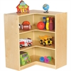 "ECR4KIDS Birch 36"" Corner Storage Unit - 8 Compartment(s) - 12"" - 36"" Height x 30"" Width x 30"" Depth - Floor - Natural - Birch - 1Each"