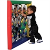 ECR4KIDS SoftZone Bubble Outie Soft Frame Mirror