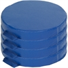 """ECR4KIDS Softzone 4 Piece Round Carry Me Cushion - 15"""" x 15"""""""