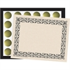 Flipside Art Deco Black Border Certificate Pack