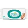 Pampers Sensitive Wipes - White - Hypoallergenic, Fragrance-free, Soft - For Skin - 36 / Pack