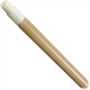 "Carlisle 60"" Hardwood Threaded Mop Handle - 60"" Length - Natural, Lacquer - Hardwood, Plastic, Nylon"