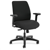 "HON ComfortSelect A9 Task Chair - 5-star Base - Black - 27.5"" Width x 27"" Depth x 40"" Height"
