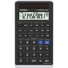 Casio FX 260 Solar II Scientific Calculator - 144 Functions - Easy-to-read Display - 10 Digits - Solar Powered - Black - 1 Each