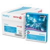 "Xerox Vitality Multipurpose Printer Paper - Letter - 8.50"" x 11"" - 20 lb Basis Weight - 92 Brightness - 5000 / Carton - White"
