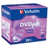 Verbatim AZO DVD+R 4.7GB 16X with Branded Surface - 20pk Slim Case - 2 Hour Maximum Recording Time
