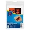 "Avery Fragile Labels - Permanent Adhesive - ""Fragile - Handle with Care"" - 3"" Width x 5"" Length - Rectangle - Red - 40 / Pack"