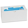 "PRES-a-ply Pin-Fed Computer Label - Permanent Adhesive - 4"" Width x 1.43"" Length - Rectangle - Dot Matrix - White - 5000 / Box"