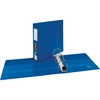 "Avery One Touch Ring Heavy-duty Binder - 3"" Binder Capacity - Letter - 8 1/2"" x 11"" Sheet Size - 670 Sheet Capacity - 3 x D-Ring Fastener(s) - 4 Internal Pocket(s) - Chipboard, Poly - Blue - Recycled"