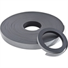 "Baumgartens Adhesive Magnetic Tapes - 1"" Width x 33.33 yd Length - Magnet - Adhesive Backing - Flexible - Black"