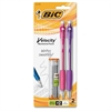 BIC Mechanical Pencils - #2 Lead Degree (Hardness) - 0.7 mm Lead Diameter - Refillable - 2 / Pack