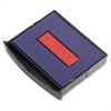 COSCO Replacement Dater Pad - 1 Each - Red, Blue Ink
